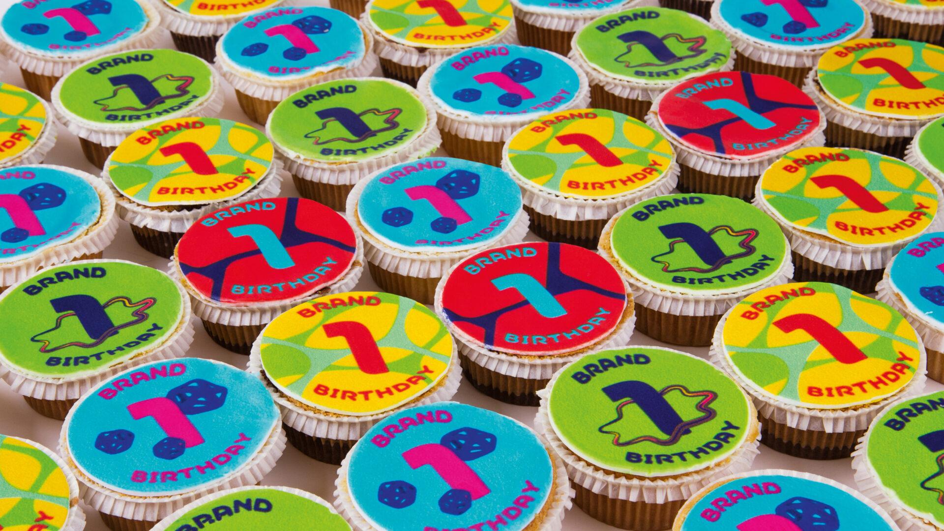 Merck IBI Markengeburtstag Muffins