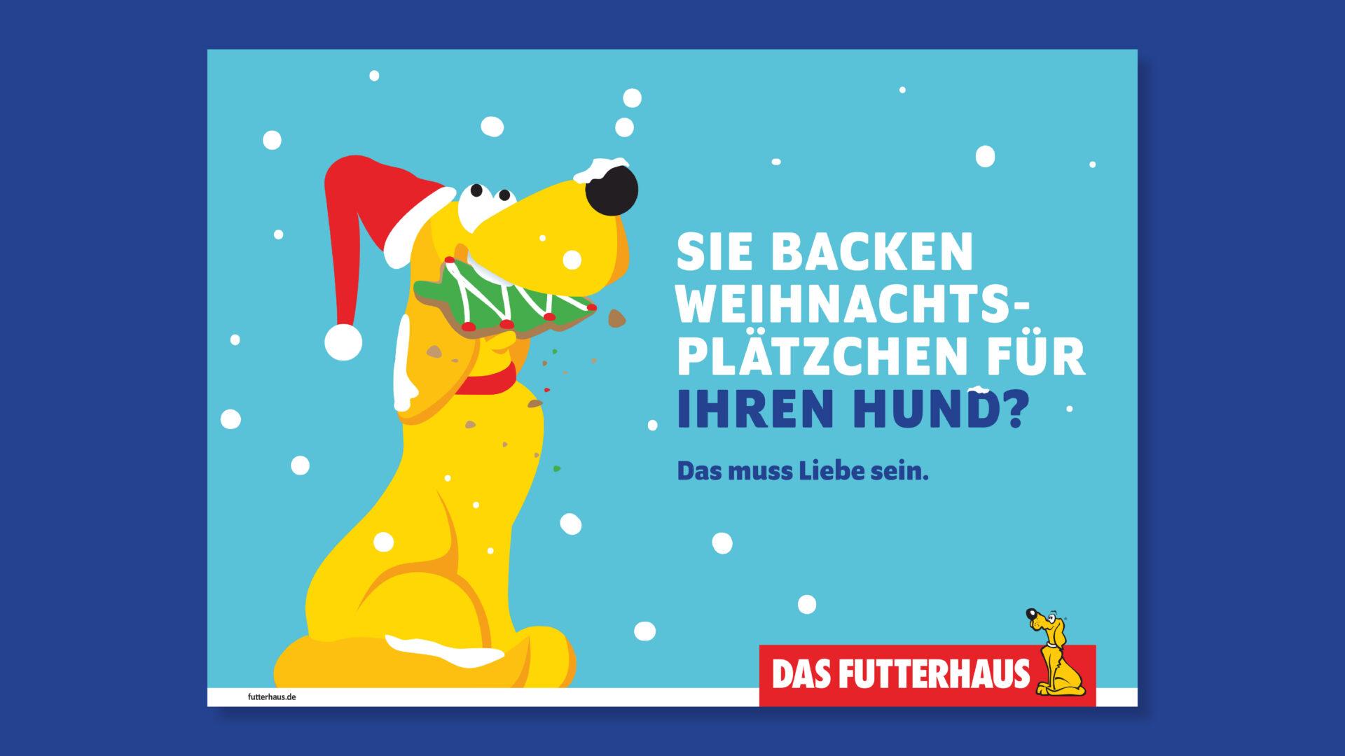 Futterhaus Anzeige