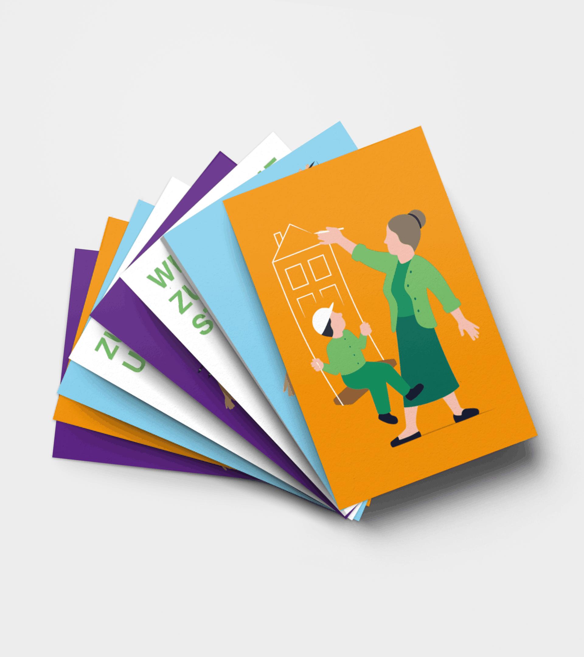 SOS-Kinderdorf Stiftung Postkarten